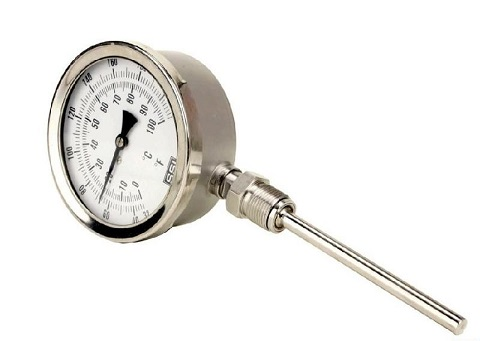 WSS耐震双金属温度计
