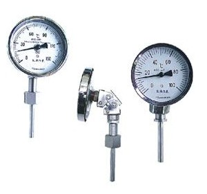 WSS径向型轴向型双金属温度计